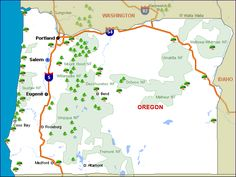 Let's go camping! Oregon.com wants to help you find the campground that's right for you. Each campground link will give you maps, detailed information and even allow you to book your campsite online! How cool is that?!    Click Anywhere on the map for a detailed view, or see the entire list below.