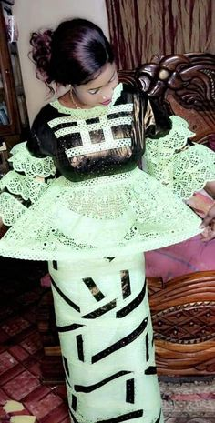African Wedding Dress, Africa Dress, African Attire, African Outfits, Latest African Fashion Dresses, White Gowns, African Lace, Africa Fashion, Skirt Set