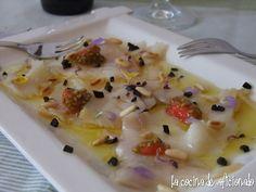 Pescado Recipe, Carpaccio Recipe, Kitchen Dishes, Spanish Food, Ceviche, Canapes, High Tea, Fish Recipes, Tapas