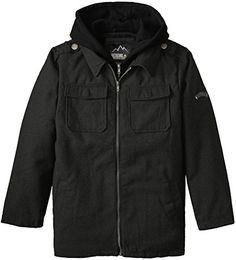 iXtreme Big Boys' Solid Wool Mock 2 For Jacket *** Learn more @