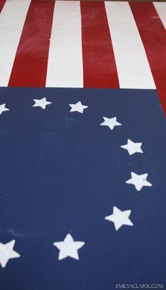 DIY Painted American