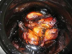 Balsamic and Honey Chicken Drumsticks in the Slow Cooker - GF & Dairy Free
