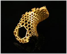 Honeycomb Ring by Karolina Bik