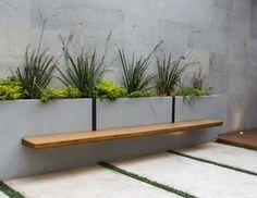 Modern Garden Design, Modern Backyard, Garden Inspiration, Outdoor Living, Easy Diy, Home And Garden, Exterior, Landscape, Flowers