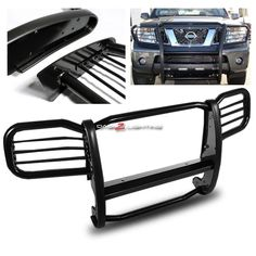 05-11 Nissan Xterra T-Beam Grill Guard - Black