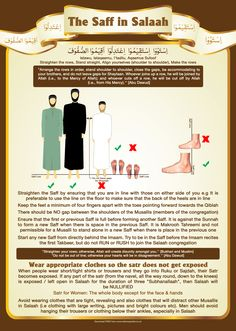 1 The Saff in Salaah - Do not leave Gaps and straighten the rows and do not expose your Satr.jpg (3579×5031)