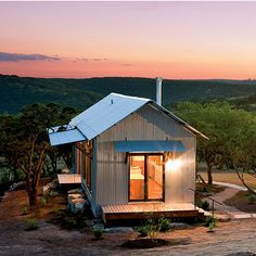 """Modular small homes which are """"familiar and a little distinctive,"""" says Bill Aylor, Associate Architect. This combo of old and new in a tiny house concept does not equal mobile home."""