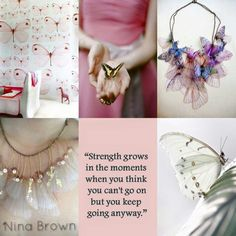 Be strong even if you think you can't. Beautiful Collage, Beautiful Words, Rose Hill Designs, Pot Pourri, Mood Colors, Women Of Faith, Pastel, Colour Board, Outdoor Art
