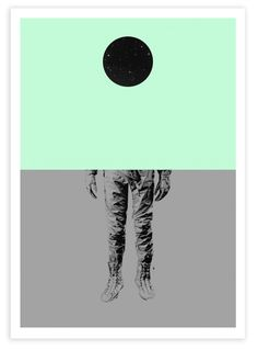 Limited edition print from Cyrcle's solo show Nothing Exists! in Fresh