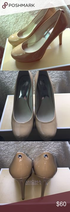 Michael Kors Nude Ionna Pump Brand New, Never Worn Nude Michael Kors Pumps. Still in the box. Michael Kors Shoes Heels