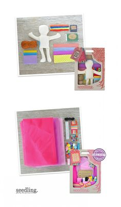 Build your own doll any way you can imagine with our DIY designer dolly kit.
