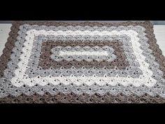 Wonders Chevron Blanket Crochet Pattern - YouTube