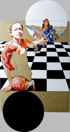 Cristina Troufa, 1974 | Surrealist/Symbolist painter | Tutt'Art@ | Pittura * Scultura * Poesia * Musica |