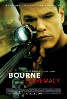The Bourne Supremacy Jason Bourne is played by Matt Damon. This movie takes on the name of the second Bourne novel The Bourne Supremacy by Robert Ludlum, however, the plot is completely different. All Movies, Action Movies, Great Movies, Movies To Watch, Movies Online, Movies And Tv Shows, Movies Free, Film Movie, Film D'action