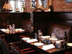 Dining Room at the Malmaison Hotel - Edinburgh - UK