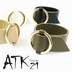 [ATK21] レザー太バングル ブレスレット シンプル バングル レディース アクセサリー(カーキ) [ATK21] https://www.amazon.co.jp/dp/B01MFD3RKA/ref=cm_sw_r_pi_dp_x_uHBeyb8331Q85