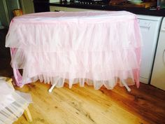 Timeless Textiles - Table Skirt for weddings, christening or birthdays. To hire contact Truly  Scrumptious  x