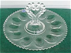 Imperial Candlewick Deviled Egg Plate