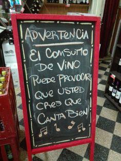 Frase vino graciosa