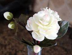 Resultado de imagen para flores de ceramica en frio paso a paso