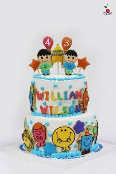 Mr Men & Little Miss Cookies & Cake