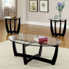 Furniture of America Shilton Modern 3-Piece Open Accent Table Set - Overstock™ Shopping - Great Deals on Furniture of America Coffee, Sofa & End Tables