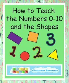 How to Teach the Numbers 0-10 and the Shapes | Heidi Songs