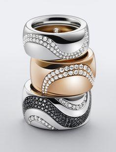 Studio Miko via Production Paradise Simple but lovely High Jewelry, Cute Jewelry, Luxury Jewelry, Jewelry Art, Gold Jewelry, Jewelry Accessories, Fashion Jewelry, Jewelry Design, Bijou Box