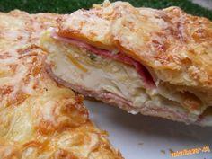 """Pie """"ala"""" hemendex   Mimibazar.sk Hungarian Recipes, Russian Recipes, Hungarian Food, Polish Recipes, Green Kitchen, Nom Nom, Sandwiches, Good Food, Brunch"""