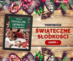 Videobook przepisy świąteczne Polish Recipes, Calzone, Bruschetta, Blond, Food And Drink, Sweets, Cookies, Christmas Ornaments, Holiday Decor