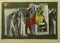 Tauromaquia (1955) Raquel Forner