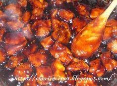 Bourbon Crockpot Chicken on MyRecipeMagic.com