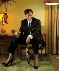 """""""If a million people see my movie, I hope they see a million different movies."""" Quentin Tarantino 