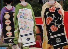 Darari obi of koiya Tama, Odamoto and Fukushima (Gion Kobu)