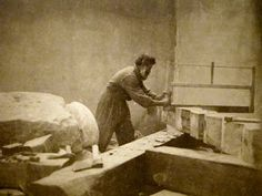 I'm a day late and a dollar short, but happy Constantin Brancusi! I would say he is the most famous Romanian, behind Dra. Constantin Brancusi, Dream Studio, King Of Kings, Modern Sculpture, Painting, Inspiration, Plaster, Paris, Boys