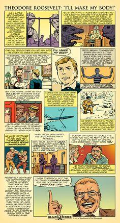 Original AoM Comic: Theodore Roosevelt - I'll Make My Body!