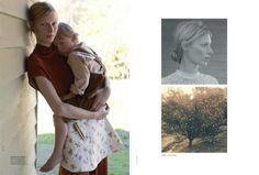 julia nobis stephen ward7 Julia Nobis is a Natural Beauty for Stephen Ward in Vogue Australia Shoot