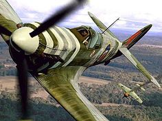 Aviation Art Of Wwii