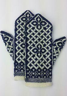 Neuen : Gratis breipatroon -: Manicmaiden & # s Celtic Carol, Knitted Mittens Pattern, Fair Isle Knitting Patterns, Knit Mittens, Knitted Gloves, Knitting Designs, Knitting Projects, Free Knitting, Knitting Socks, Ravelry