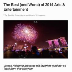 The Best (and Worst) of 2014 Arts & Entertainment The Best (and Worst) of 2014 Arts & Entertainment James Halcomb presents his favorites (and not so favs) from this last year. - See more at: http://evpo.st/13q0ncN