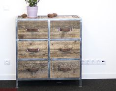 Industrial Dresser, Chest of Drawers, Wardrobe: Rustic Reclaimed Wood, Rustic And Industrial Reclaimed Barn Wood Furniture