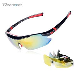 sunglasses for bike riding  Aliexpress.com : Buy OBAOLAY Cycling Sport Sunglasses Anti fog ...