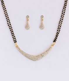 Touchstone AD Shine Mangalsutra Set