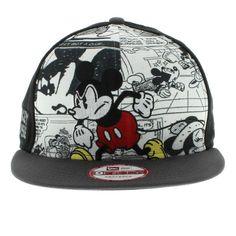 New Era Cap Mickey Mouse The Hero Break Out Snapback Hat , wholesale for sale  $5.9 - www.hatsmalls.com