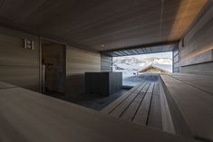 The 'Zallinger Refuge Hotel' in Seiser Alm, an alpine region in Italy known for its picturesque ski slopes, has had a recent refurbishment by Bolzano. Italy Architecture, Amazing Architecture, Alpine Chalet, Alpine Style, Journal Du Design, South Tyrol, Mountain Resort, Beautiful Hotels, Gallery