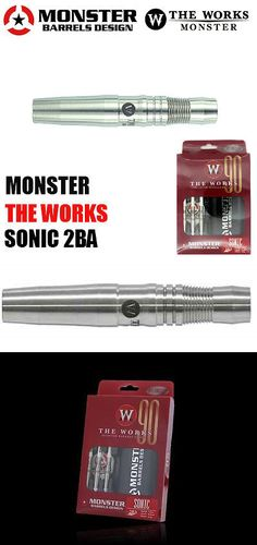 Darts-Soft Tips 26331: Monster The Works Sonic 90 - 18G Tungsten Dart Barrels -> BUY IT NOW ONLY: $60.95 on eBay!