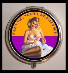 OBEY ME You'll Be Happier Pinup Sexy by sweetheartsinner on Etsy, $7.50