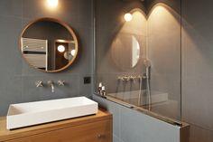 Rénovation d'un appartement de 105m2- Paris 11ème  Salle de bain, carrelage @mutina, robinetterie @dornbracht, vasque @allape