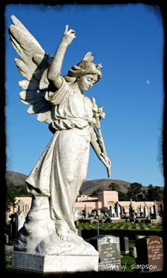 """Colma, CA-- the whole town is graveyards and funeral homes.  With most of Colma's land dedicated to cemeteries, the population of the dead outnumber the living by over a thousand to one. This has led to it being called, """"the city of the silent,"""" and also has given rise to a humorous motto, now recorded on the city's website: """"It's great to be alive in Colma."""""""