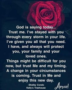 Because He Lives, Christian Pictures, Faith Walk, Christian Inspiration, Daily Inspiration, God Bless America, Pretty Words, Trust Me, God Is Good